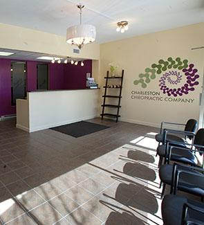 Charleston Chiropractic Company Lobby